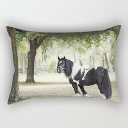Majestic Horse in Color Rectangular Pillow