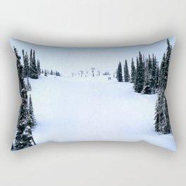 Fresh morning powder Rectangular Pillow