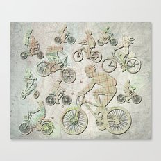 Bike Brooklyn Canvas Print