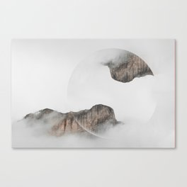 Montain Relations Canvas Print