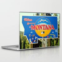 montana Laptop & iPad Skins featuring Montana by americansummers