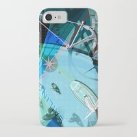 sailing iPhone & iPod Cases featuring Sailing by Robin Curtiss