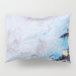 Blue Marble Pillow Sham