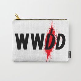 What Would Dexter Do? Carry-All Pouch