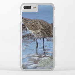 Looking for food Clear iPhone Case