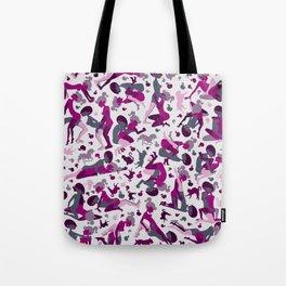 Deep Pink Tote Bag