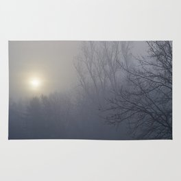 Foggy Morning by the River - The Peace Collection Rug