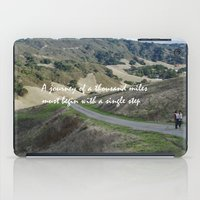 miles davis iPad Cases featuring Thousand Miles by Natalie Guardado