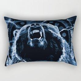 CHIEF CHARGING BEAR Rectangular Pillow