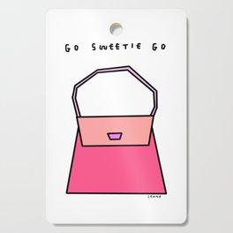 Go Sweetie Go! - Girl Power Illustration Cutting Board