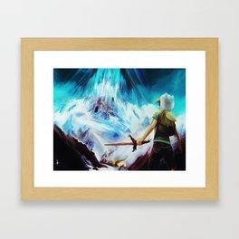OooLAND Framed Art Print