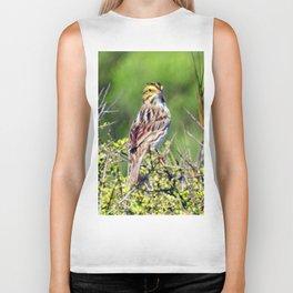 Savannah Sparrow Biker Tank