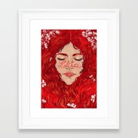 lolita Framed Art Prints featuring Lolita  by Nicolae Negura