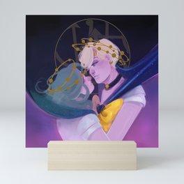 moon crowns: uranus and neptune Mini Art Print