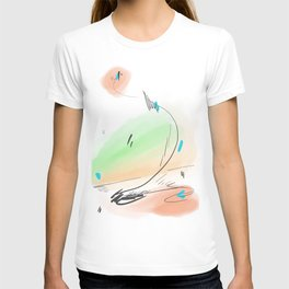 Abstract sunrise S2 T-shirt