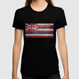 Flag of Hawaii, Retro Vintage T-shirt