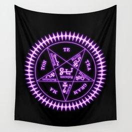Sebastian Michaelis Sigil Light (black bg) Wall Tapestry