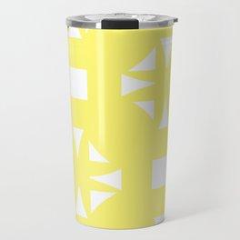 Butter Yellow Pattern One Travel Mug