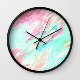 Sea of Spring Wall Clock