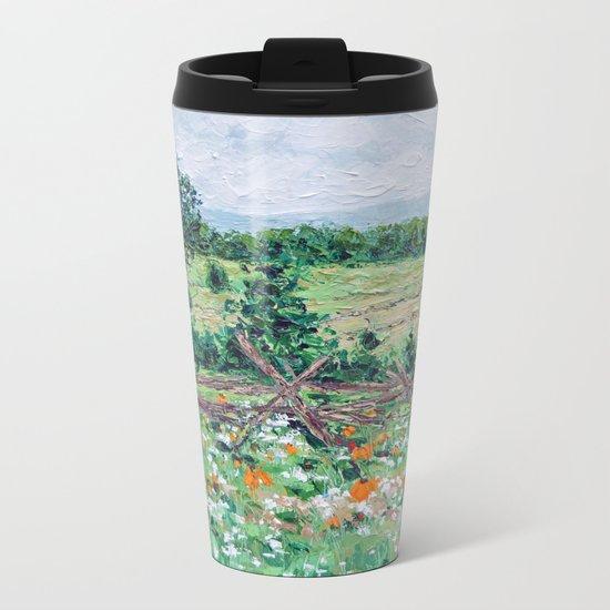 Gettysburg Farm Metal Travel Mug