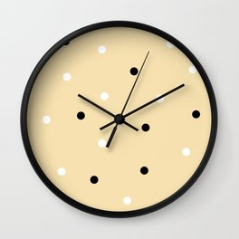 Chocolate Chip Cookie Dough Wall Clock