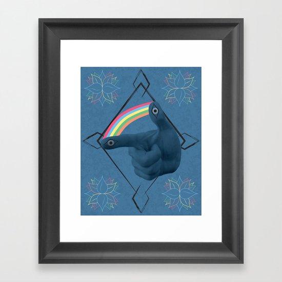 Psychonautic Explorations Framed Art Print