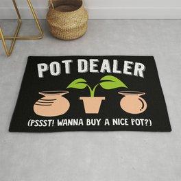 Pot Dealer | Wordplay Pottery Rug