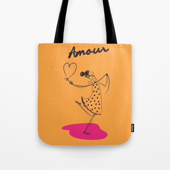 """The Ink - """"Amour"""" Tote Bag"""