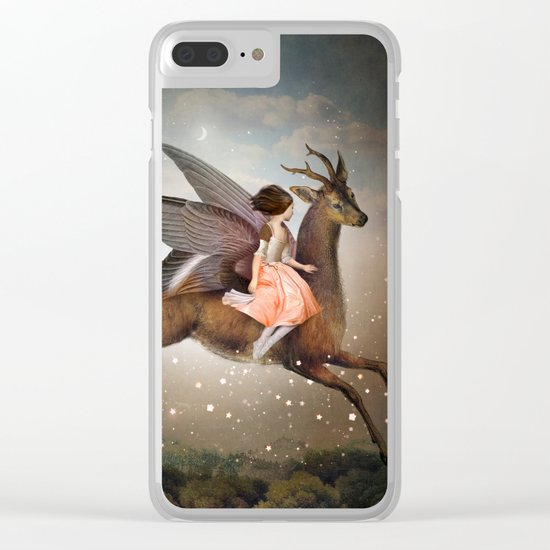 The Night Is Still Young Clear iPhone Case
