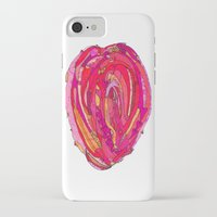 artsy iPhone & iPod Cases featuring Artsy Heart by Ingrid Padilla