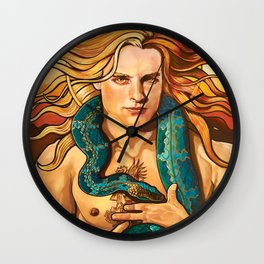 El Sol - From the Loteria Camp Series Wall Clock