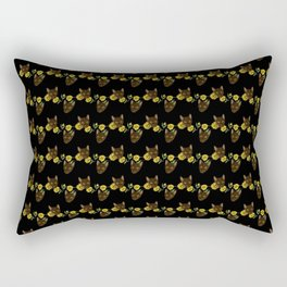 Sunflowers Grow On Kitttens Feat. LittleOne.nub Rectangular Pillow