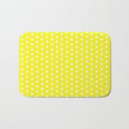 SWISS DOT ((sunshine yellow)) Bath Mat