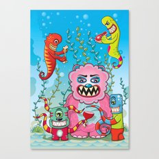Flesh and Teeth's Canvas Print