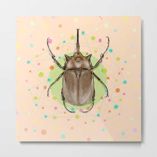 Insect I Metal Print