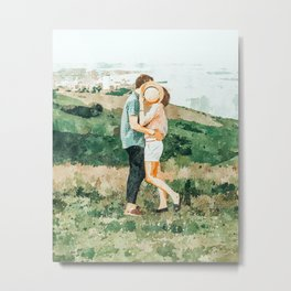 Togetherness #painting Metal Print