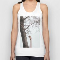alone Tank Tops featuring Alone by Jovana Rikalo