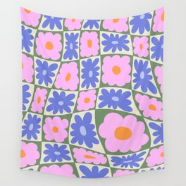 Floral seven Wall Tapestry