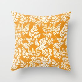Spring Orange Throw Pillow