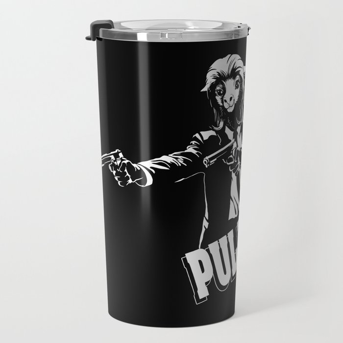 Pulpaca Fiction Pulp Fiction Travel Mug