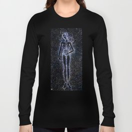 Nuit - The Starry Goddess Long Sleeve T-shirt