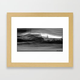 Motion landscpe 30ax Framed Art Print
