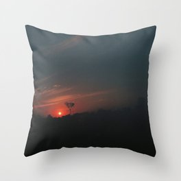 Sunset of Bonito Throw Pillow