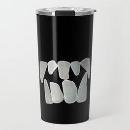 Fangs in the Dark Travel Mug