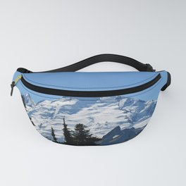Snow Cap on the Mountain Fanny Pack