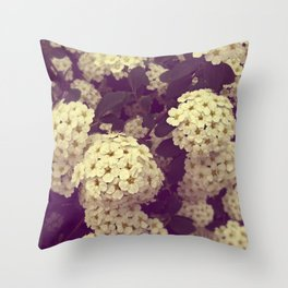 Secret Garden | Vanhoutte Spirea Throw Pillow