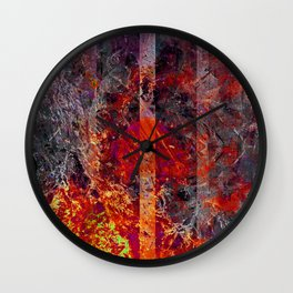 Old Flame Wall Clock