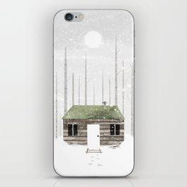 The Cabin iPhone Skin