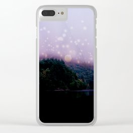 Luster Lake Clear iPhone Case