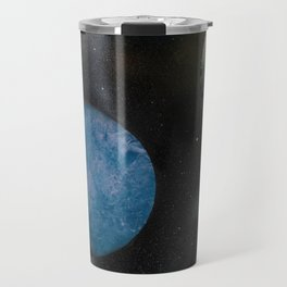 Loads of Planets - Spacescape - Spray Paint Art Travel Mug